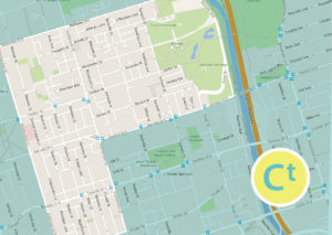 cabbagetown area map